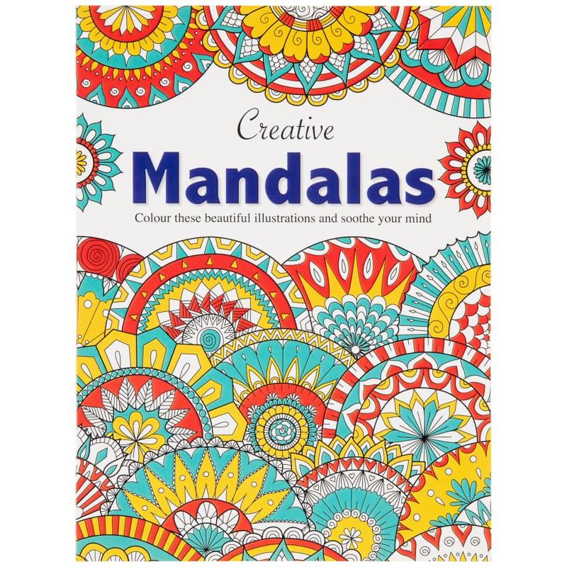Creative Mandalas Adult Colouring Book
