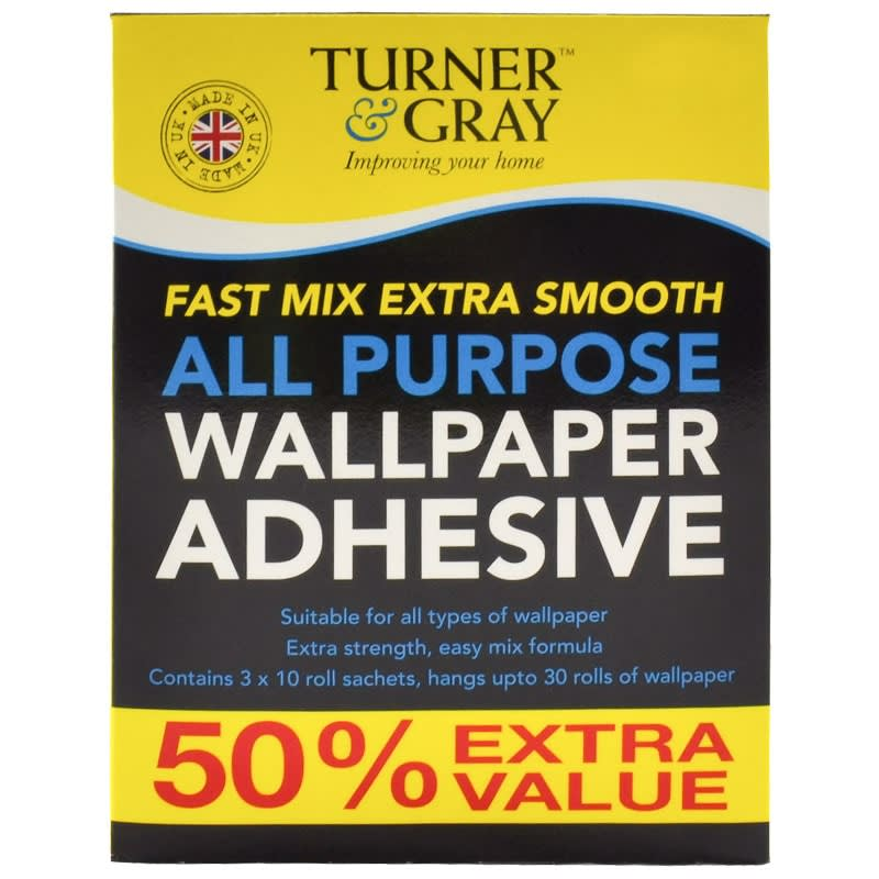 Turner & Gray All Purpose Wallpaper Adhesive
