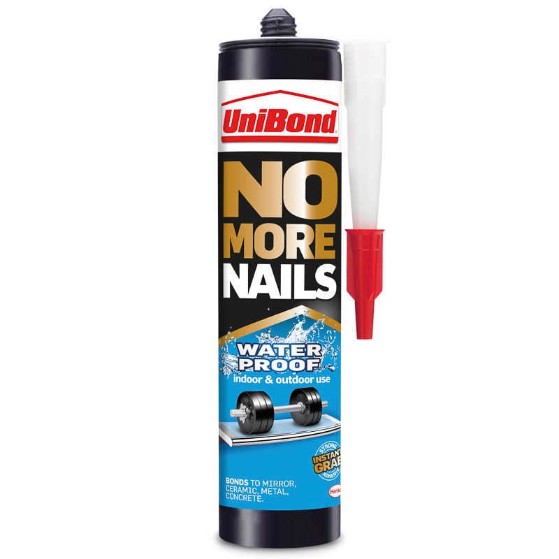 UniBond No More Nails - Waterproof Cartridge | Decorating - B&M