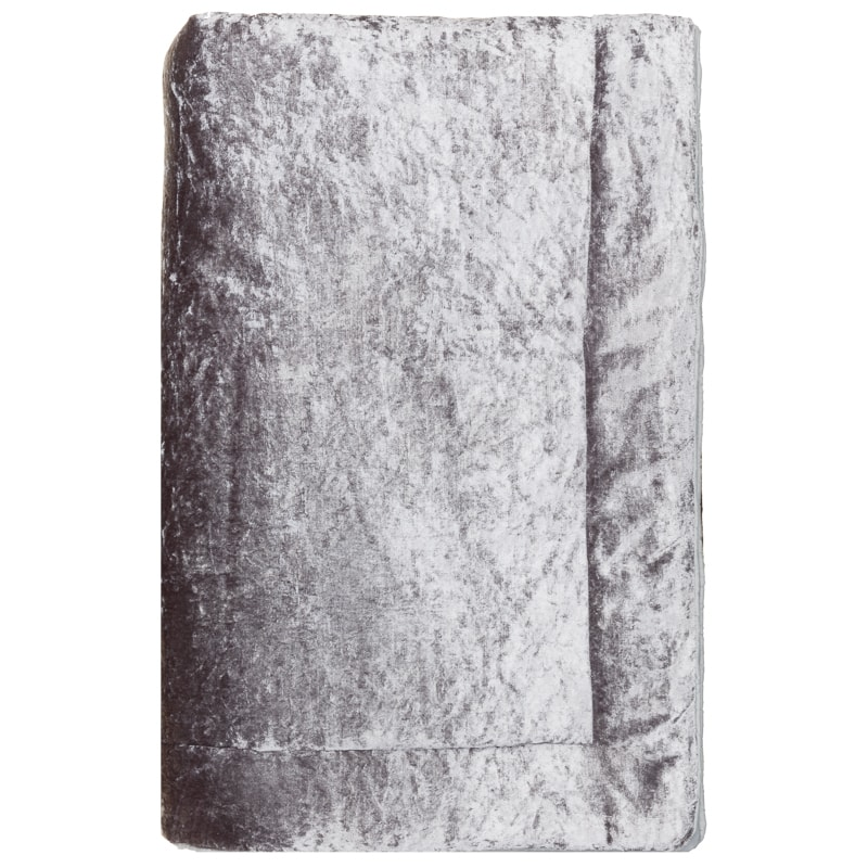 Crushed Velvet Throw Silver Throws Amp Blankets Home