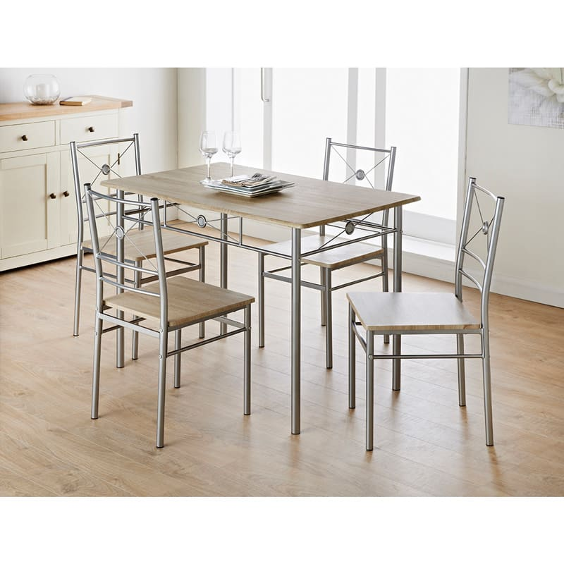 49d08437d8 B&M Carolina 5 Piece Dining Set - 320106 | B&M
