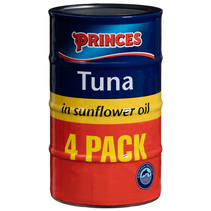Princes Tuna Chunks in Oil 4 x 145g