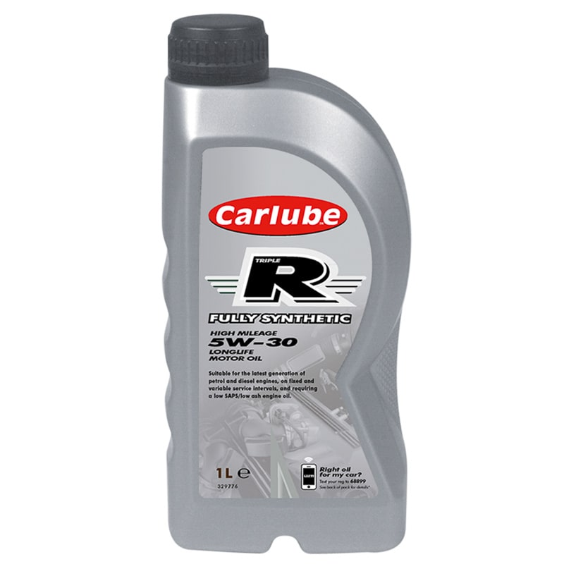 Carlube Triple R 5w 30 Fully Synthetic Motor Oil 1l Car Care