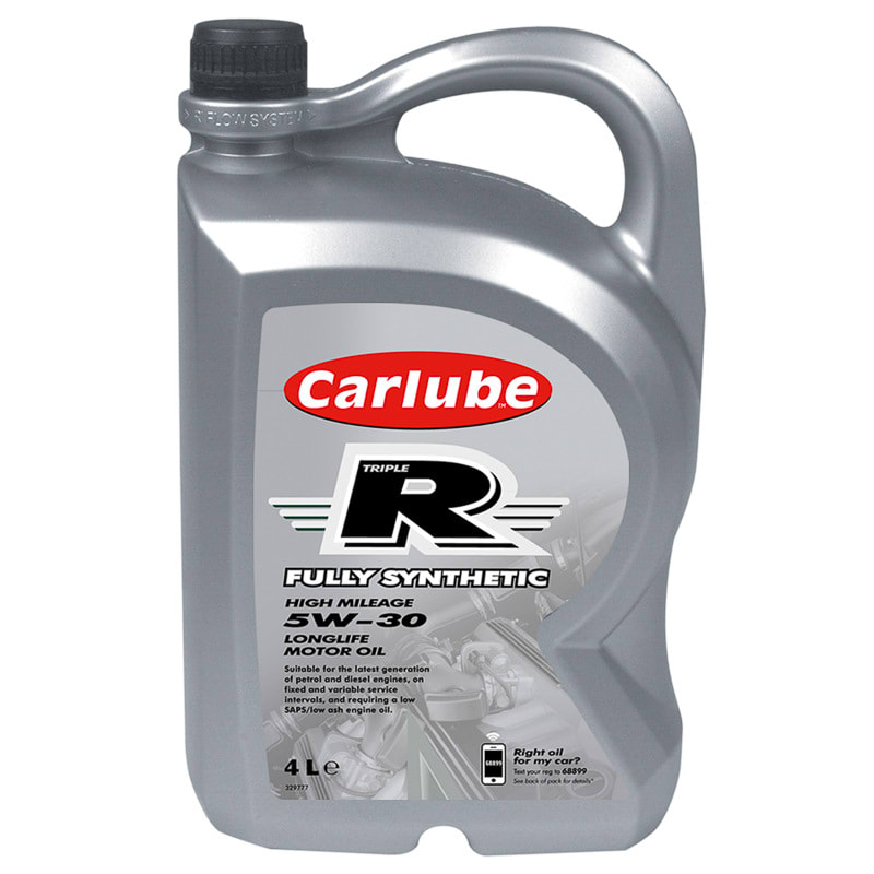 Carlube Triple R 5w 30 Fully Synthetic Motor Oil 4l Car Care