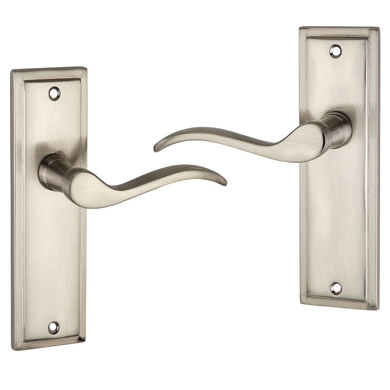 Willow Satin Effect Scroll Internal Door Handle Door Knobs