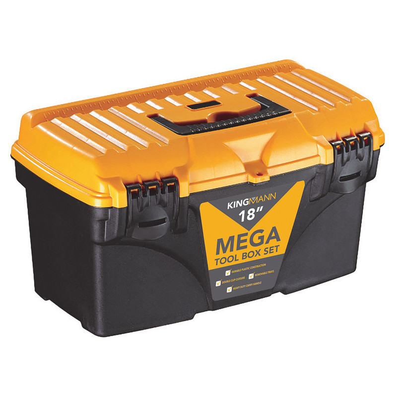 kingmann mega tool box free 13 toolbox set decorating diy. Black Bedroom Furniture Sets. Home Design Ideas