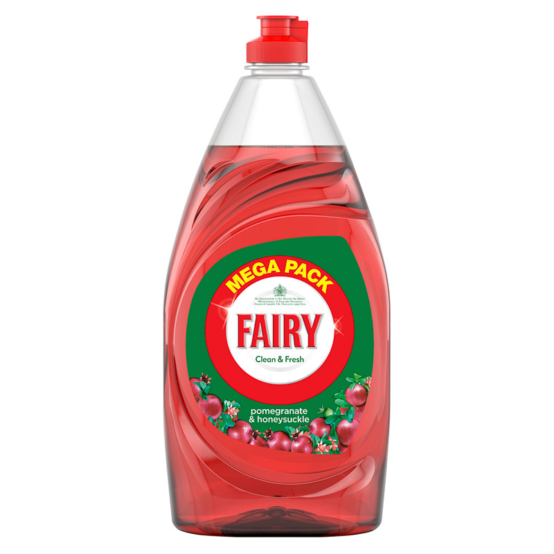 fairy pomegranate  u0026 honeysuckle washing up liquid 1 5l