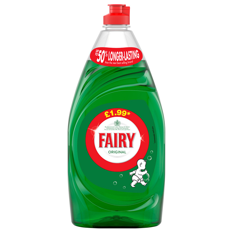 Fairy Original Washing Up Liquid 750ml Cleaning Household