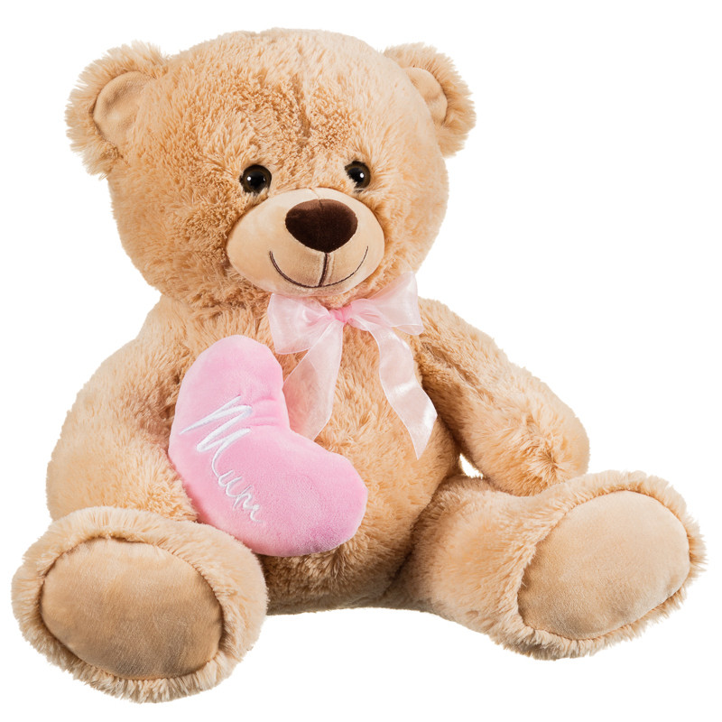 Home mother s day gifts under 163 10 teddy bear with quot mum quot love heart