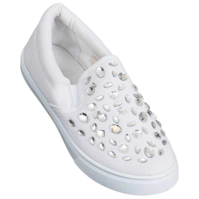 fashion canvas shoes white womens footwear
