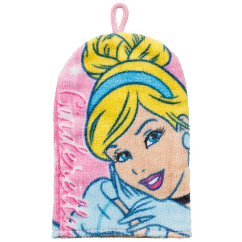 Cinderella Princess Wash Mitt Bathing Accessories