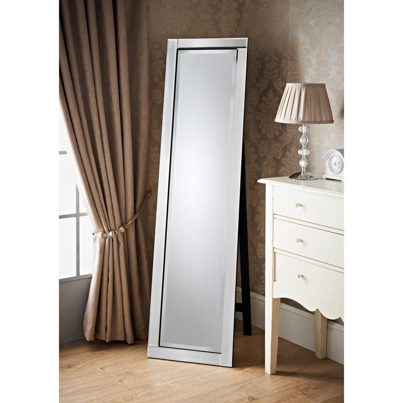 Grace cheval mirror home decor mirrors for Cheap stand up mirrors