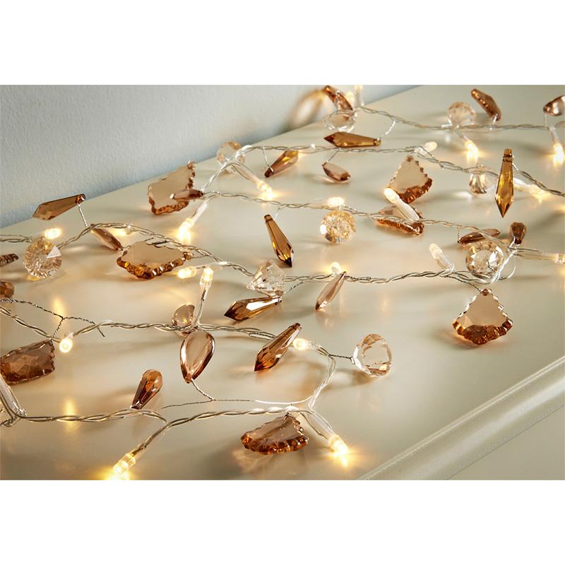 30 LED Luxury Jewel Lights - Bronze Lighting - B&M