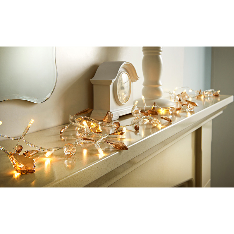 30 LED Luxury Jewel Lights - Bronze