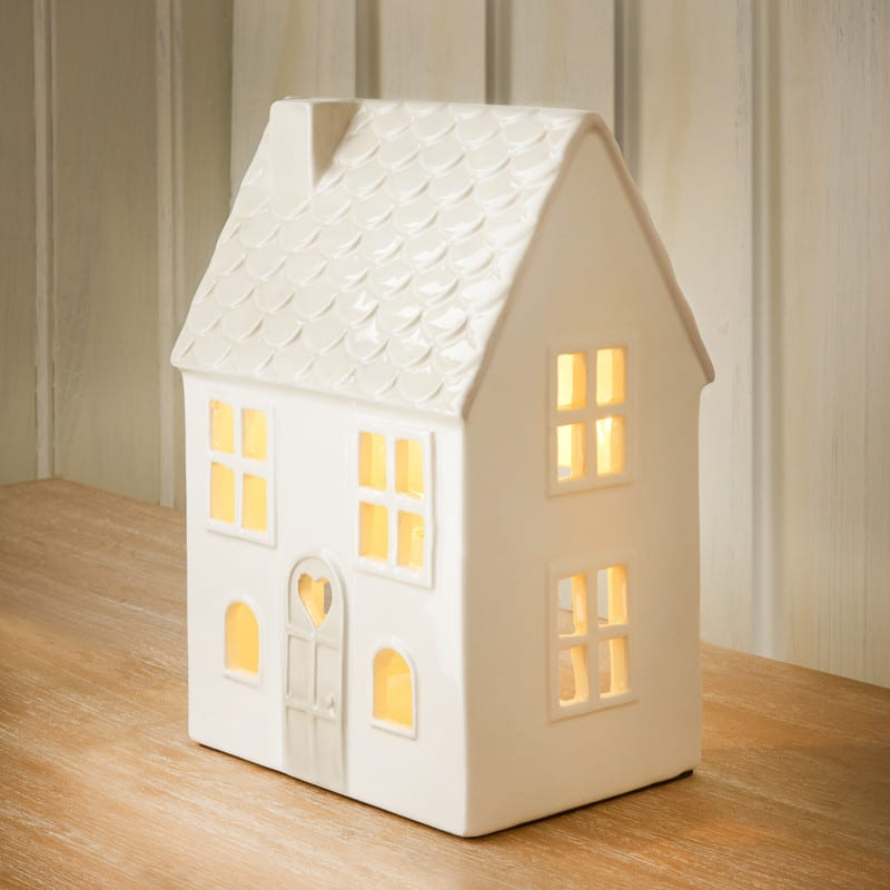 Ceramic House Table Lamp Lighting Table Lamps