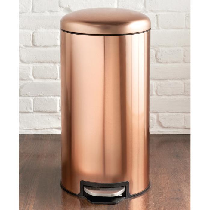 Copper Pedal Bin 30l Household Essentials B Amp M