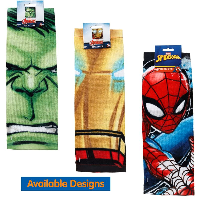 Spider-Man Face Cloth