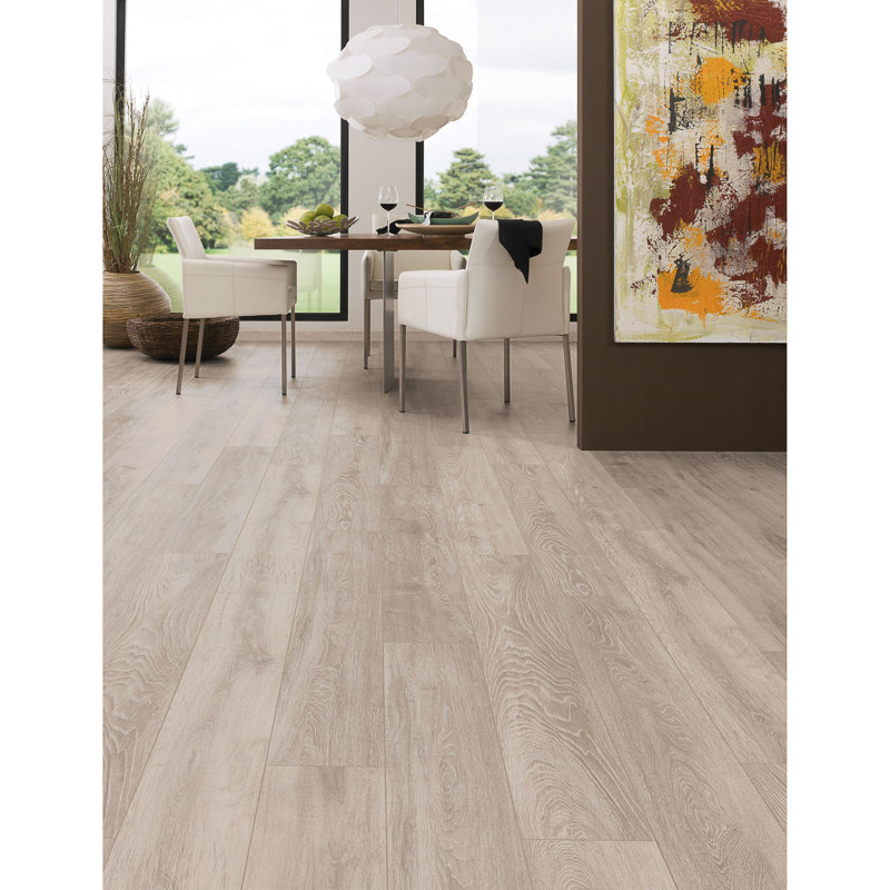 Winterfold Grey Oak Effect Laminate Flooring Tiling