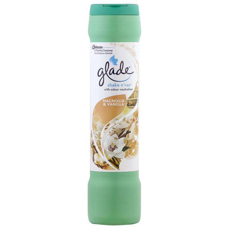 Glade Shake N Vac Magnolia Amp Vanilla 500g Carpet Cleaner