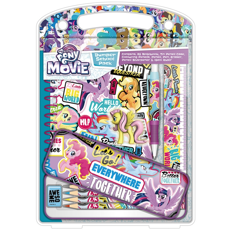 My Little Pony Bumper Stationery Set Kids Stationery B Amp M