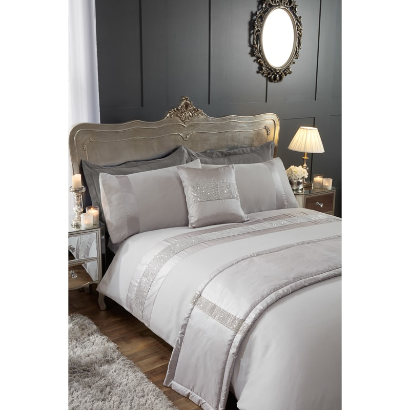 Diamante Double Bed In A Bag Set Bedding Set B Amp M Stores