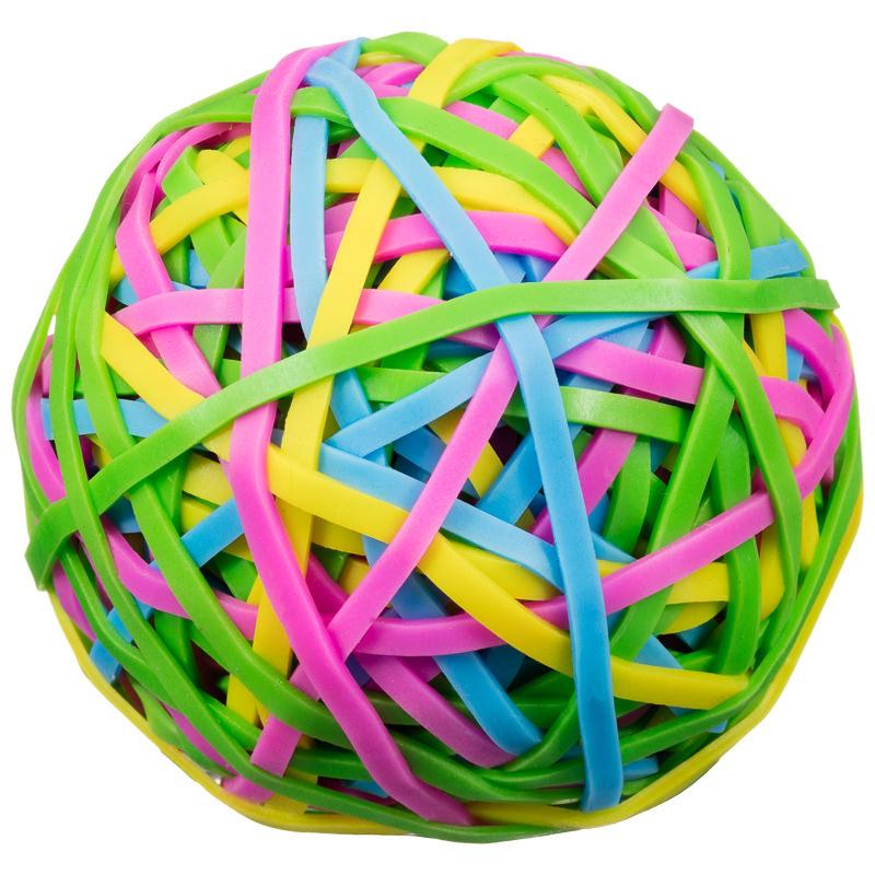 Elastic Band Ball | Stationery - B&M