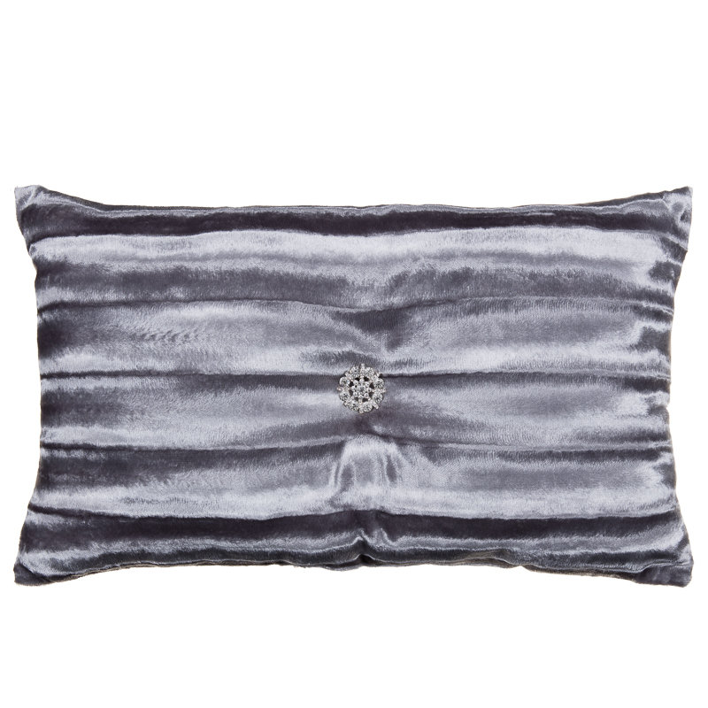 Freya Fur Jewel Boudoir Cushion