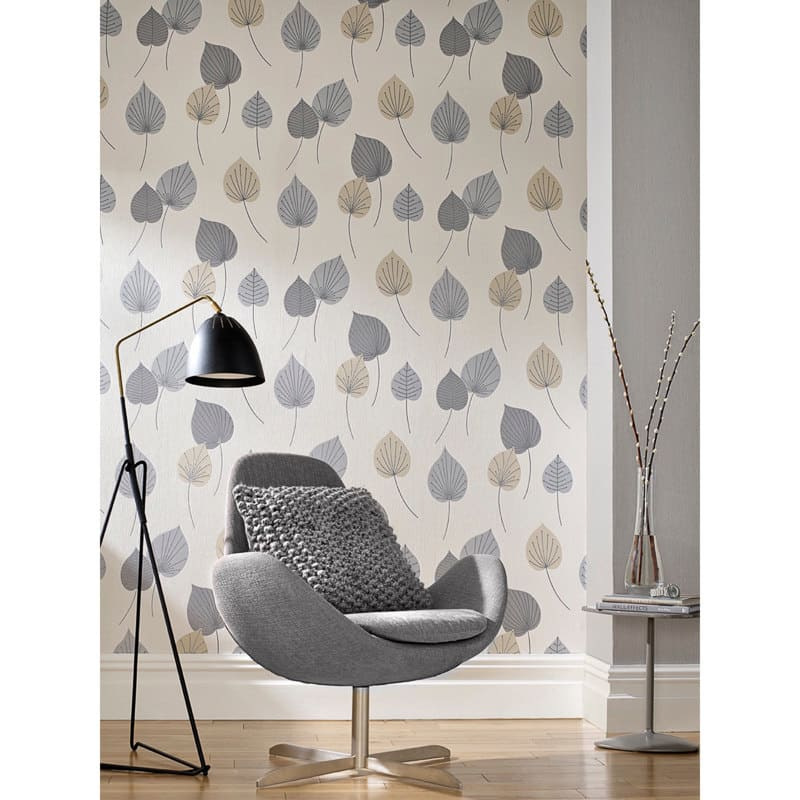 Rasch Vermont Motif Wallpaper Neutral Decorating Diy
