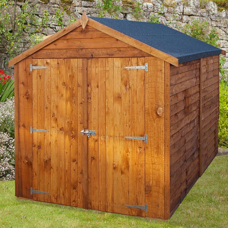 Apex shed 8 x 6 garden shed garden buildings for Garden shed 8 x 6