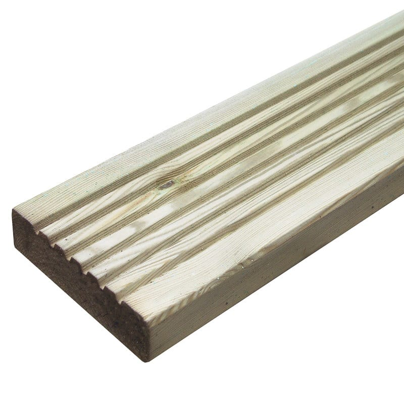 Decking Board 2.4m x 120mm x 28mm