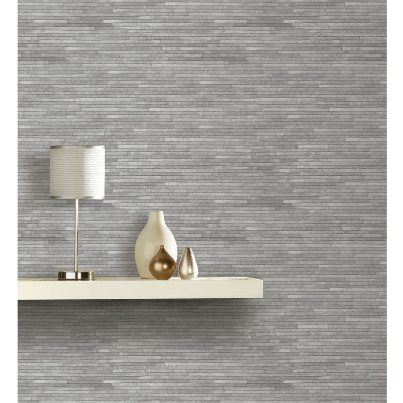Arthouse Slate Wallpaper Grey Decorating Diy B Amp M