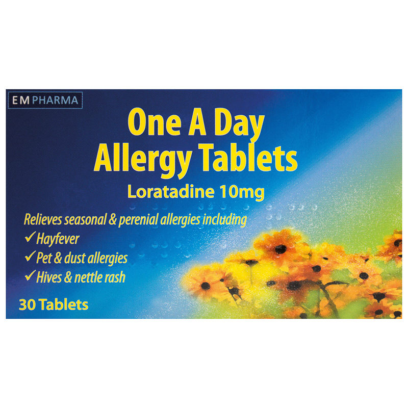 allergy one a day tablets 10mg 30pk allergies. Black Bedroom Furniture Sets. Home Design Ideas
