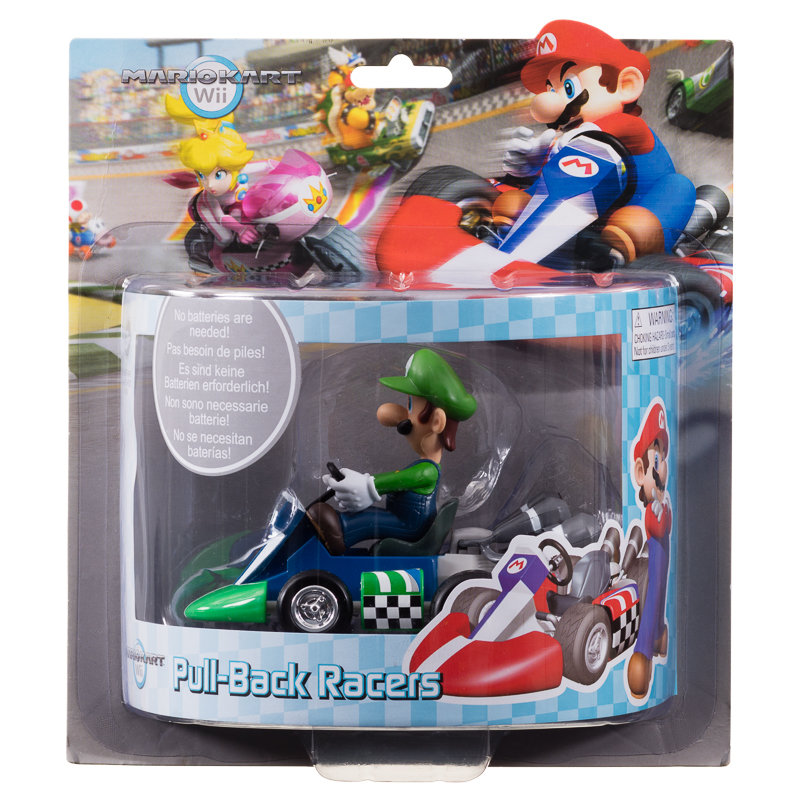 Mario Kart Wii Pull Back Racers