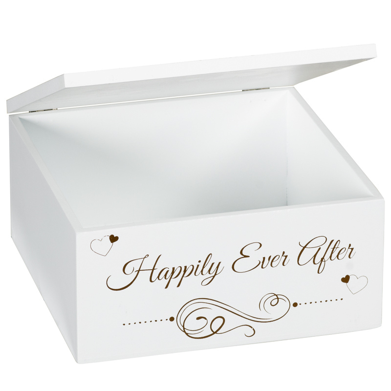 312820-Wedding-Day-Storage-Box-happily-ever-after-  sc 1 st  Bu0026M & Wedding Day Storage Box | Wedding Gifts u0026 Ideas