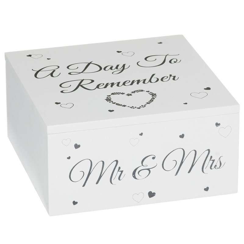 312820-Wedding-Day-Storage-Box-mr-and-mrs-  sc 1 st  Bu0026M & Wedding Day Storage Box | Wedding Gifts u0026 Ideas