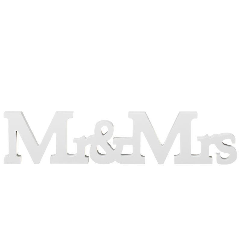 Mr Amp Mrs Wooden Words Wedding Gifts Amp Ideas Decoration