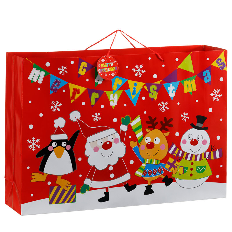 Giant landscape christmas bags presents gifts