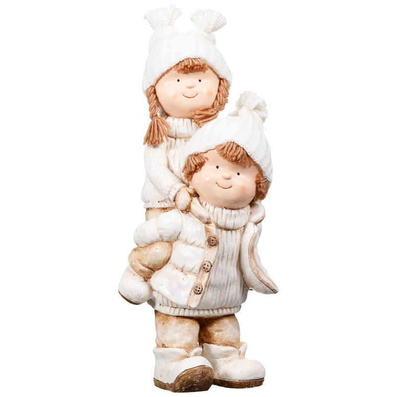 Piggy back children ornament christmas decorations b m for B m christmas decorations