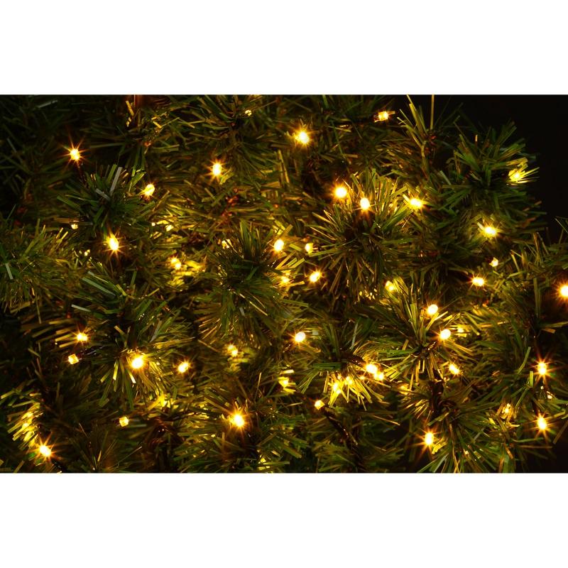Bright Led Christmas Lights.Eveready Ultra Bright Led Chaser Lights 200pk Warm White