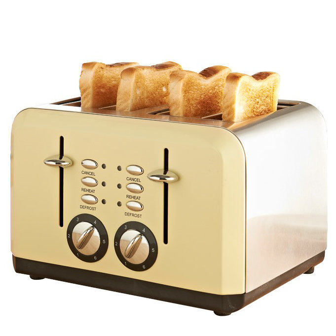Ge 4 Slice Toaster ~ Fire was ge toaster slice