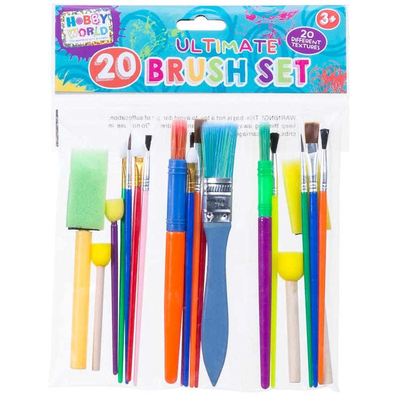Children S Paint Brush Set