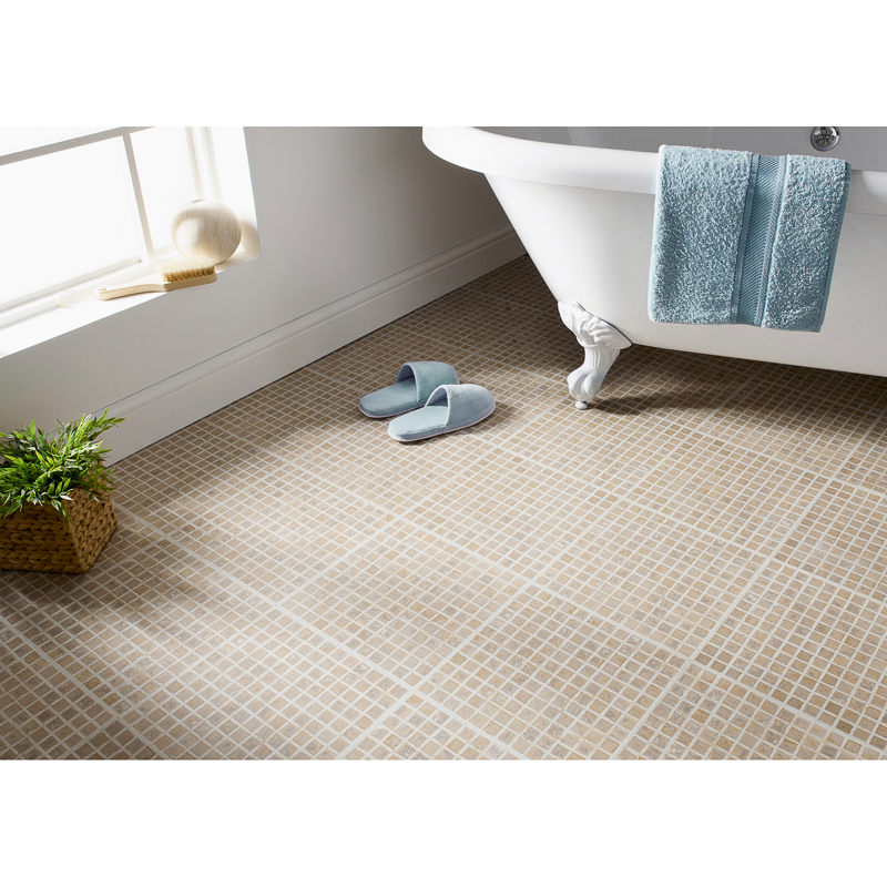 Cheap Vinyl Floor Tiles Bathroom Vinyl Flooring At Bm