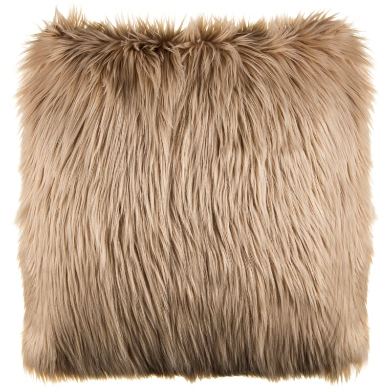 Cassie Long Faux Fur Cushion