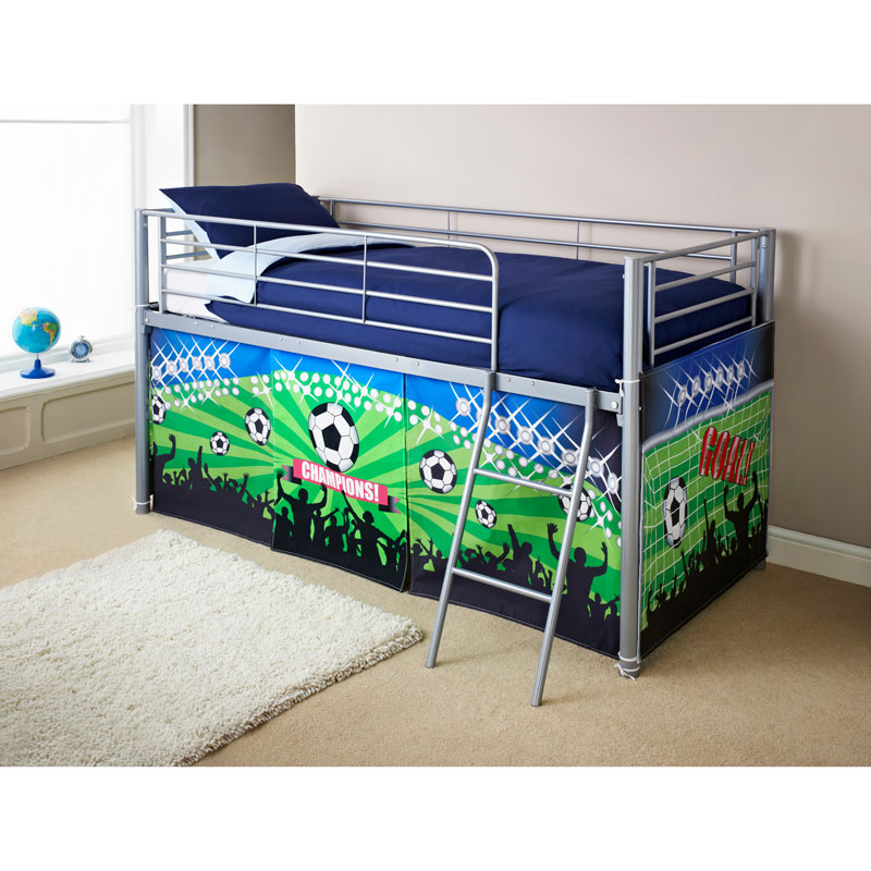 Midsleeper bed football bedroom furniture b m stores for B m bedroom furniture