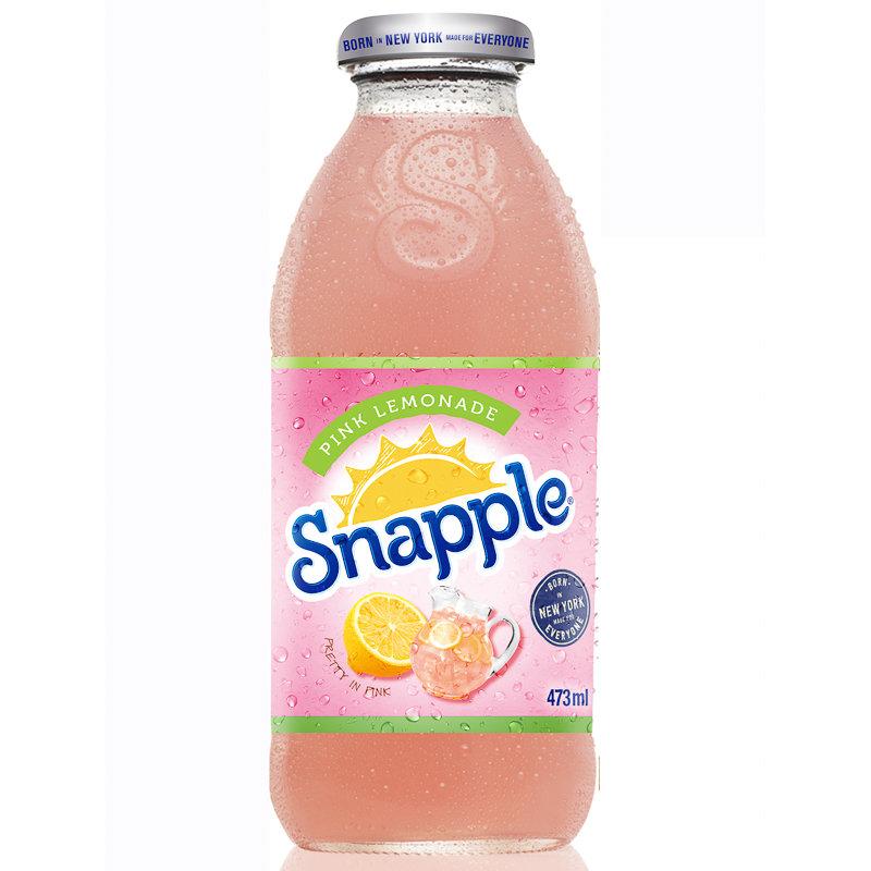 Snapple Pink Lemonade 473ml Grocery Soft Drinks B Amp M