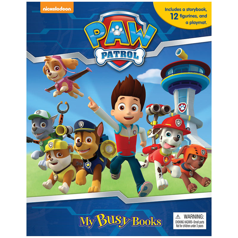 Paw Patrol My Busy Book Kids Books Activity Book