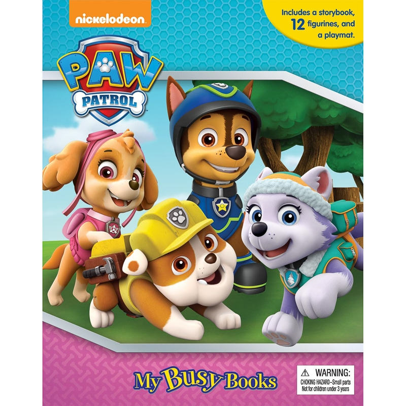 Paw Patrol My Busy Book Kids Books Activity Book B Amp M