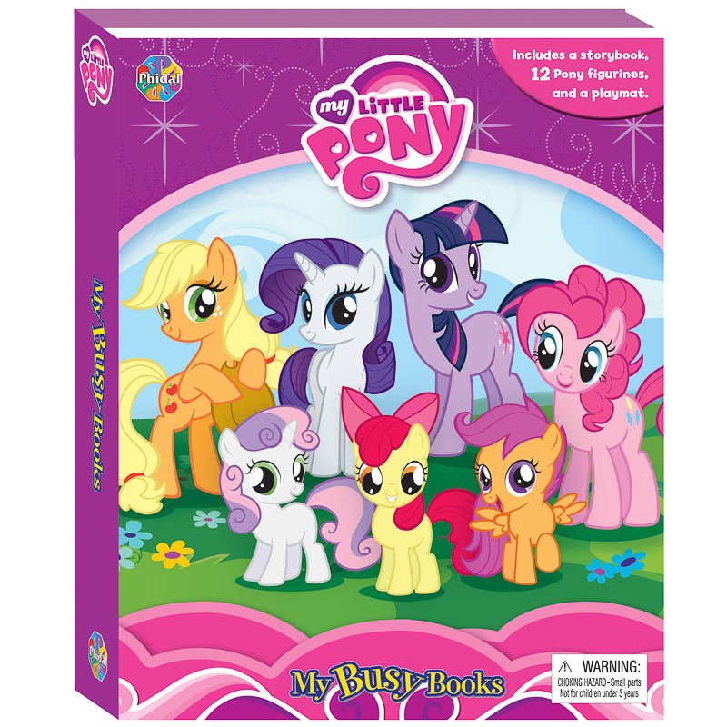 My Little Pony My Busy Book Kids Books Activity Book