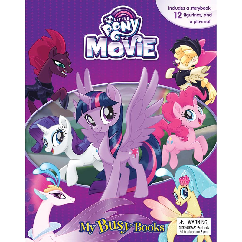 My Little Pony My Busy Book Kids Books Activity Book B&M