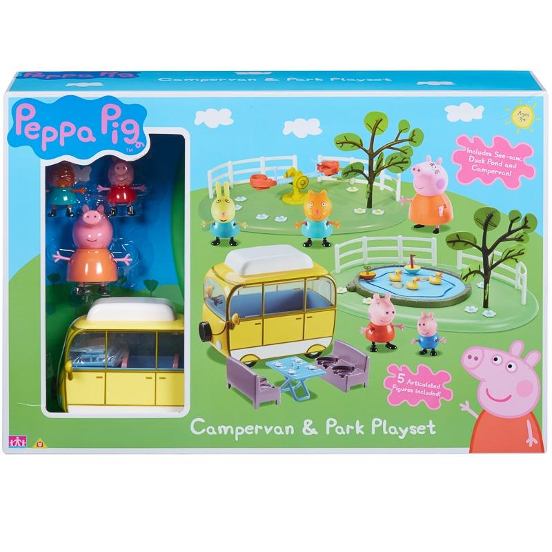 Peppa Pig Campervan Park Playset